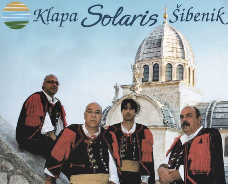 Les «Klapa Solaris» en concert
